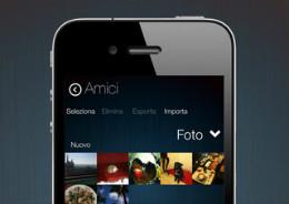 Zone geheime foto's video's iPhone app