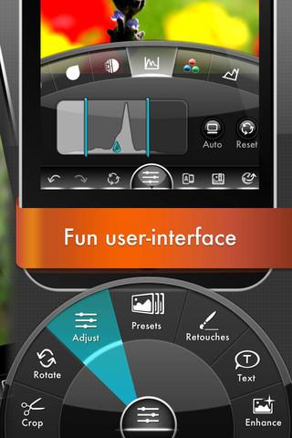 PhotoGene2 promobeeld user interface