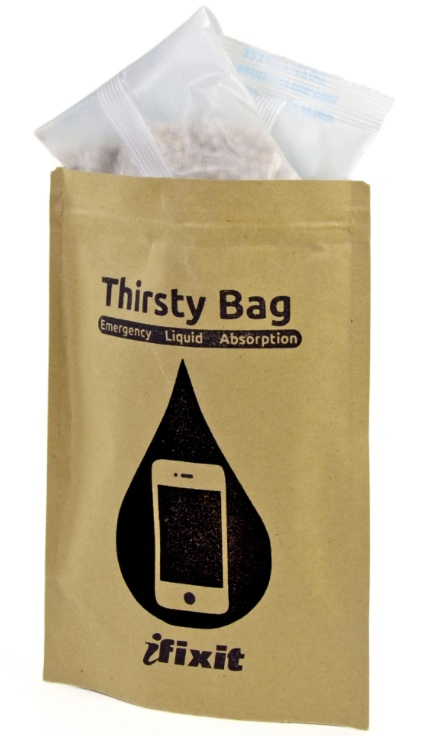 thirsty bag ifixit