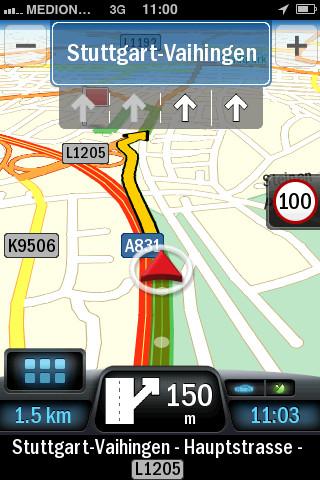 Falk Navigator Plus Europe kaart