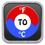 Fahrenheit to Celsius icon