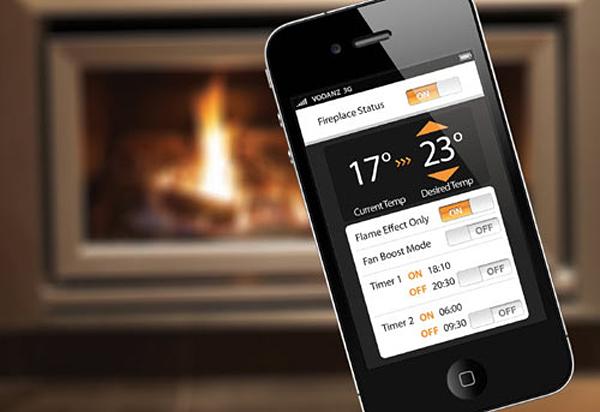 Escea iPhone Fireplace