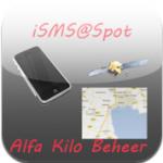 iSms Spot iPhone reizen navigatie bestemming doorgeven