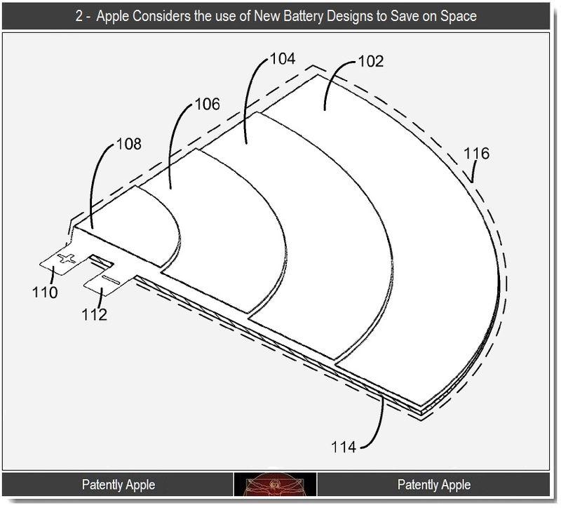 Apple patent batterij