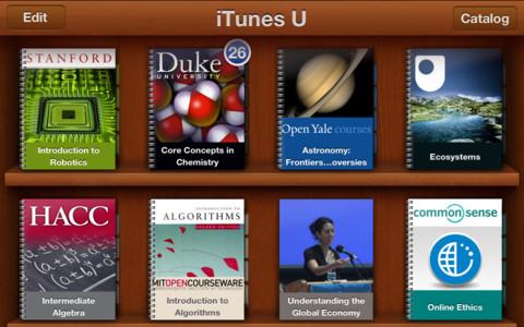 iTunes U iPhone