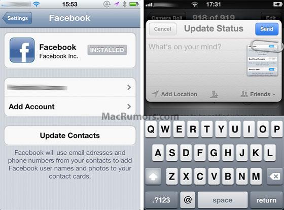 Facebook-integratie iOS