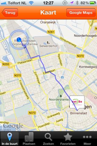 Pocketdeals NL kaart binnenstad
