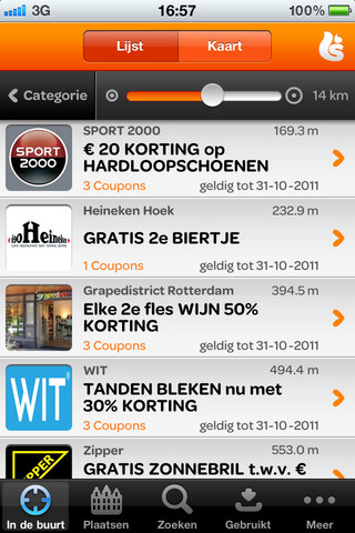 Korting-apps iPhone Scoupy