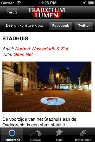Trajectum Lumen informatie stadhuis