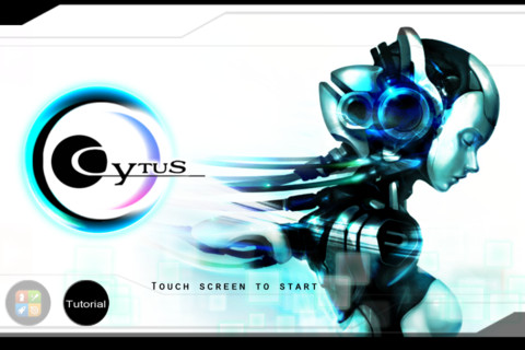 GU VR Cytus iPhone iPod touch iPad screen