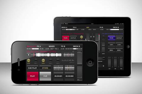 Red Bull BPM DJ voor iPad en iPhone