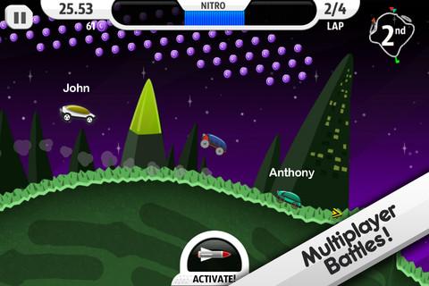 GU DO Lunar Racer iPhone iPod touch