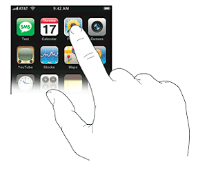 Multitouch iPhone