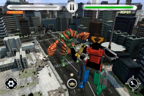 GU WO Power Rangers iPhone screenshot