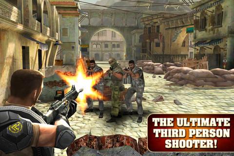GU DI Frontline Commando iPhone