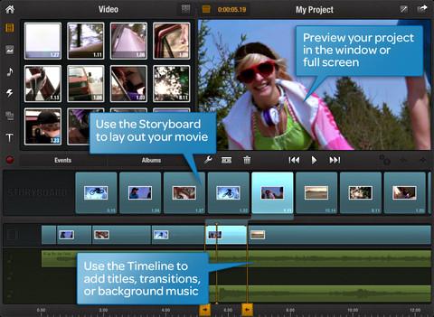 Avid Studio filmbewerken iPad