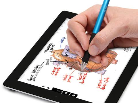 JotStudio: tekenen en schrijven met iPad app voor Adonit Jot stylus