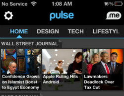 Pulse News RSS-lezer iPhone iPod touch