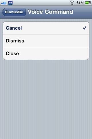 DissmissSiri: stop Siri met je stem (jailbreak)