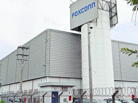 Foxconn fabriek in het Braziliaanse Jundiai