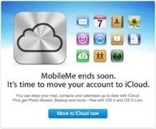 MobileMe naar iCloud