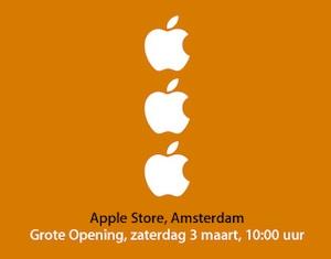 apple store amsterdam 3 maart