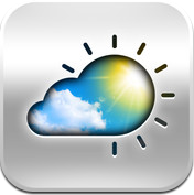 Live Weer update iPhone iPod touch