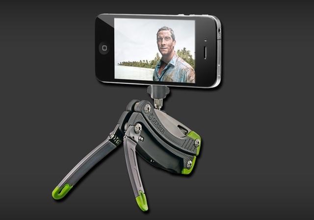 Gerber Steady is een iPhone-camerastandaard, schroevendraaier en nog veel meer