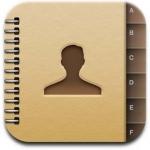iphone adresboek