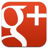 google plus icoon