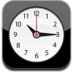 iPhone klok