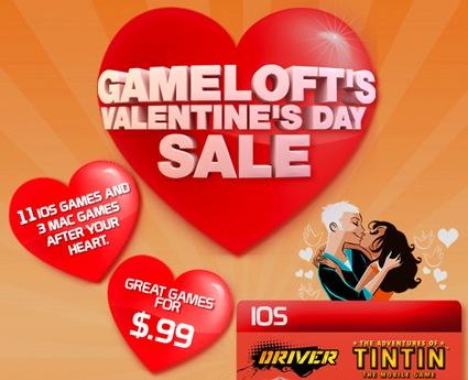 Gameloft valentijnsdag