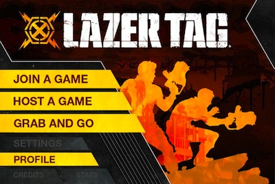 Lazer Tag app