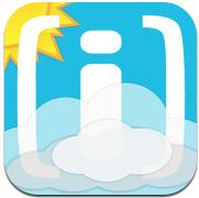 Weerplaza iPhone iPod touch gratis weersvoorspelling iPhone