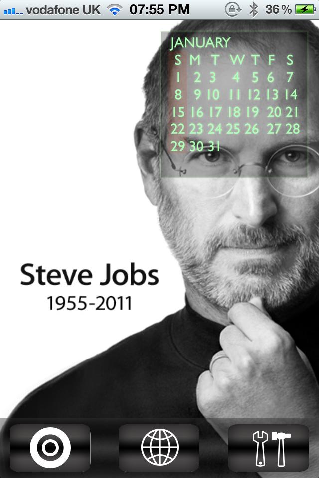 Steve Jobs Tribute Calendar