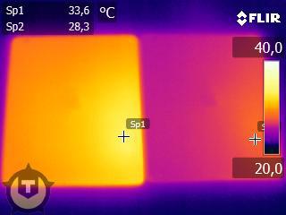 ipad temperatuur