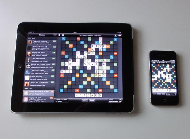 Wordfeud voor iPad binnen enkele dagen beschikbaar