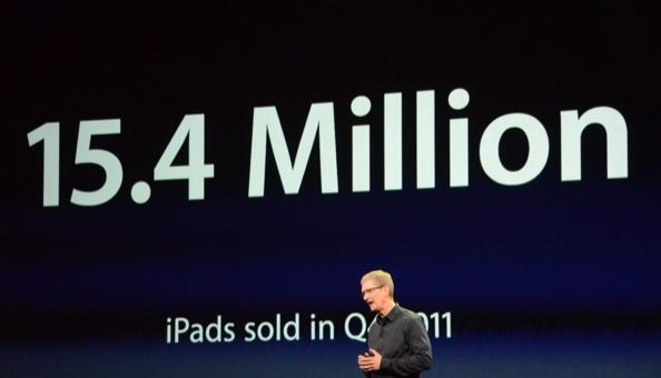 Best veel iPads verkocht in drie maanden tijd