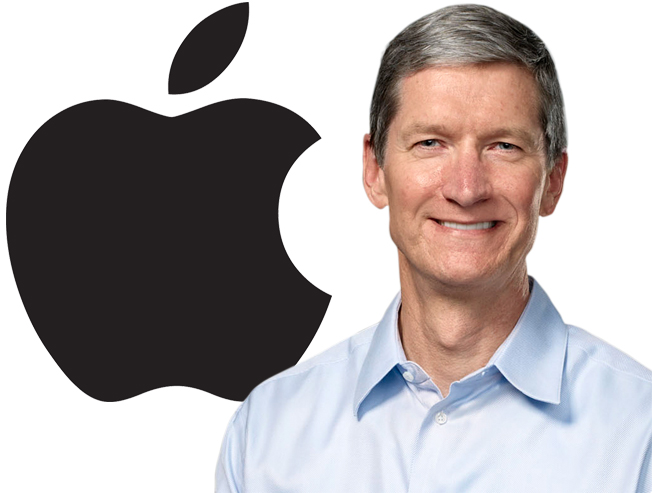 Apple-topman Tim Cook populairste CEO van 2012