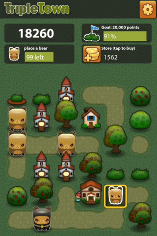 Beste games 2012 Triple Town iPhone iPod touch iPad