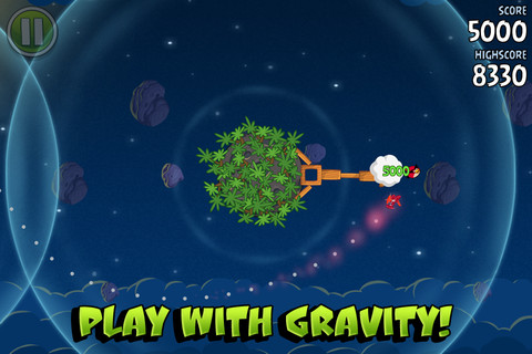 Beste games 2012 Angry Birds Space iPhone iPod touch