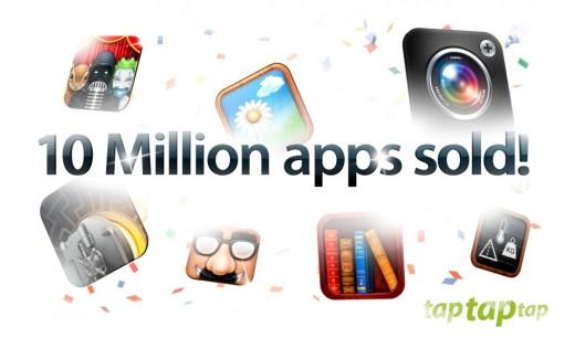Camera+ ontwikkelaar Tap Tap Tap heeft 10 miljoen betaalde apps verkocht