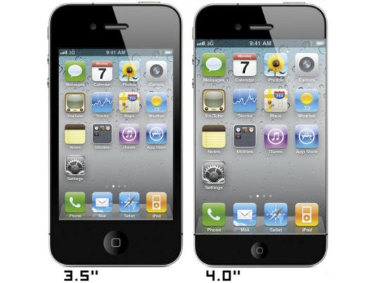 4 inch iPhone