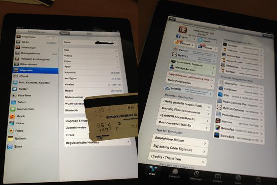 Cydia op iOS 5.1