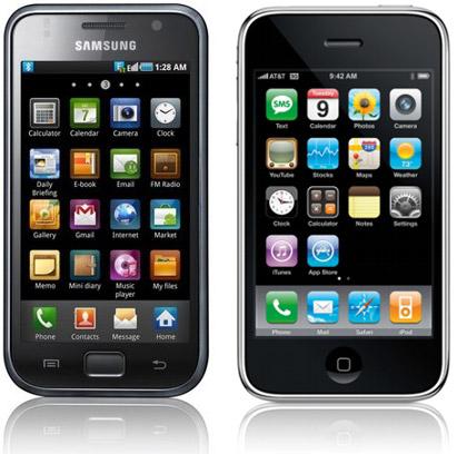 iPhone Samsung