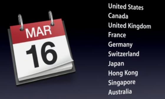 iPad 3 release datum