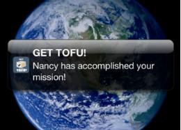 Get Tofu opdrachten uitdelen op iPhone