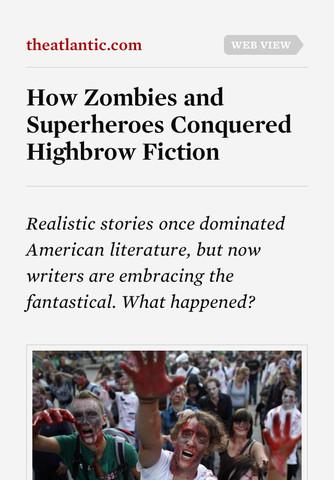 Readability artikelweergave