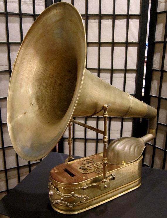 Colossus iPhone grammafoonspeaker
