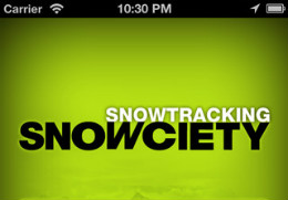 Snowciety header iPhone iPod touch wintersport